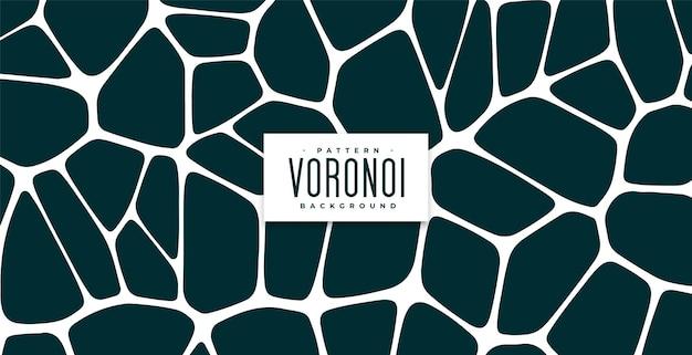 Organisch voronoi-patroon blokkeert achtergrond