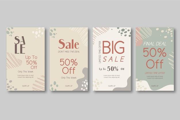 Organische instagramverhalen grote verkoop