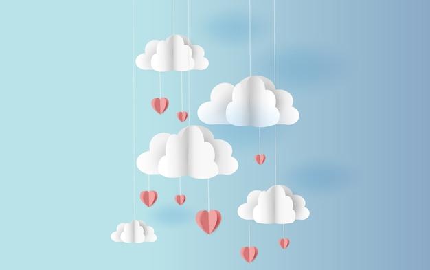 Origami maakte mobiele luchtballon