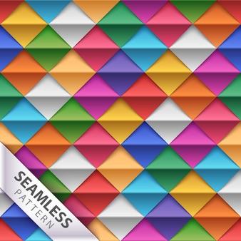 Origami naadloos patroon