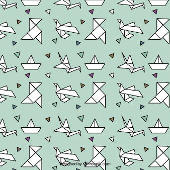 Origami patroon