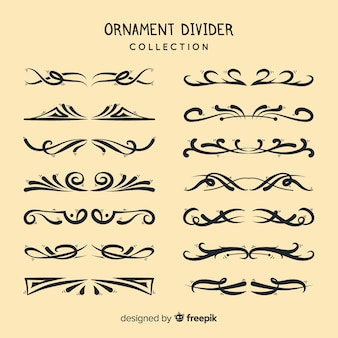 Ornament divider collectie