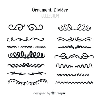 Ornament divider collectie