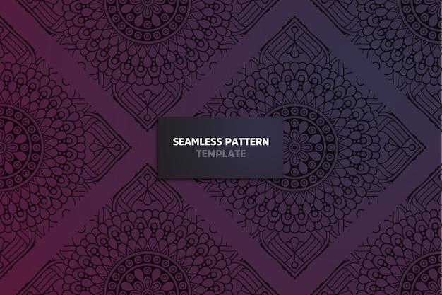 Ornament mooi mandala patroon.