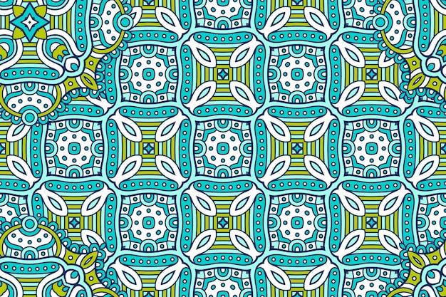 Ornament mooie achtergrond geometrische cirkel element gemaakt in vector
