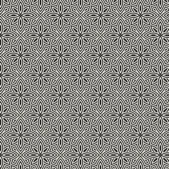 Ornament patroon. bloemmotief achtergrond