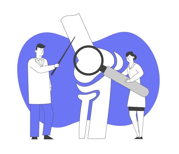 Orthopedie gezondheidszorgconcept