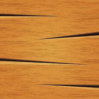 Oud houtstructuurbehang als achtergrond in bruine kleur met gebarsten vorm