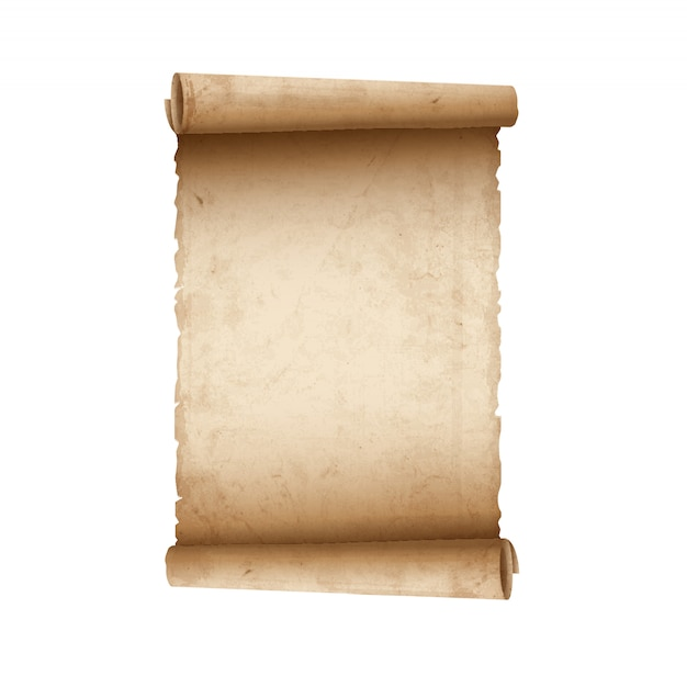 Oud scrollpapier