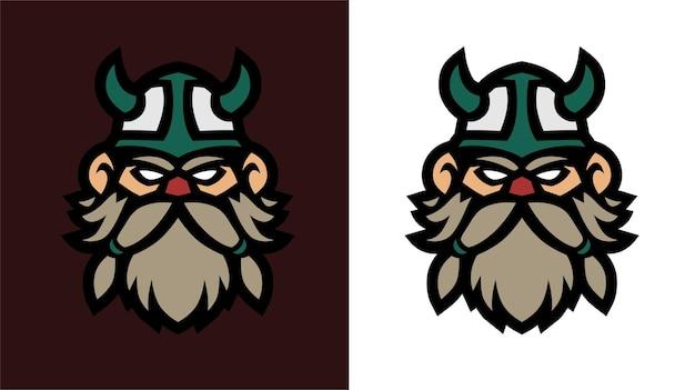 Oud viking esport gaming-logo