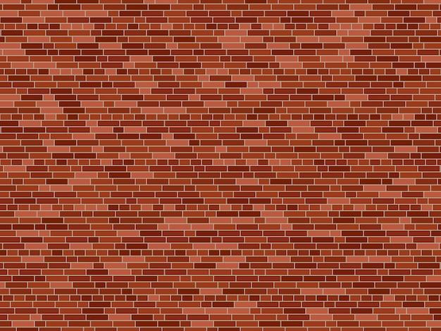 Oude bakstenen muur achtergrond. vector bakstenen muur textuur