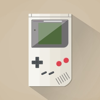 Oude gadget. plat ontwerp