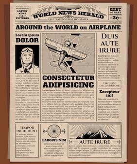 Oude krant