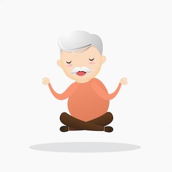 Oude meditatie.