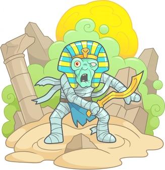 Oude mummie