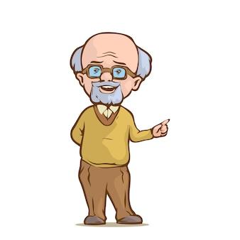 Oude professor