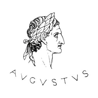 Oude romeinse illustratie