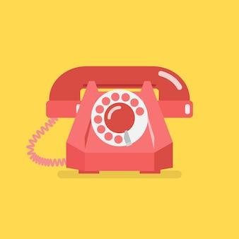 Oude vintage retro telefoon
