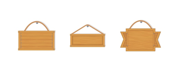 Oude westen lege houten planken.