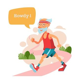 Ouderen met een actieve levensstijl ouderen sporten