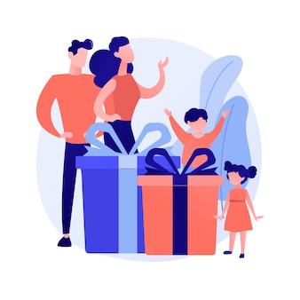 Ouders en kleine kinderen die samen spelen. gelukkig ouderschap, interraciaal stel, familiebanden. vrolijke moeder en vader met kinderen. vector geïsoleerde concept metafoor illustratie