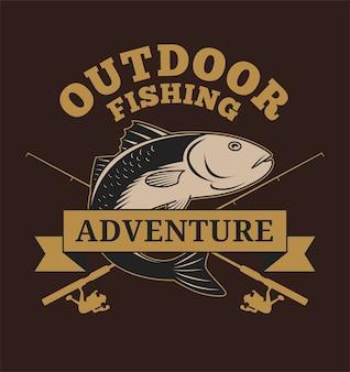 Outdoor vissen avontuur