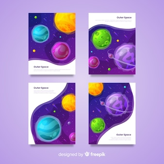 Outer space cover-collectie