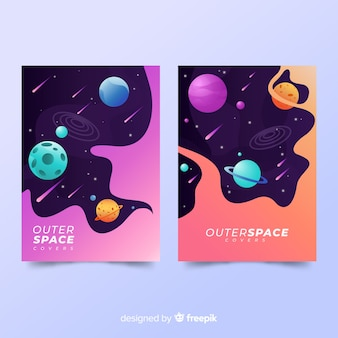 Outer space covers