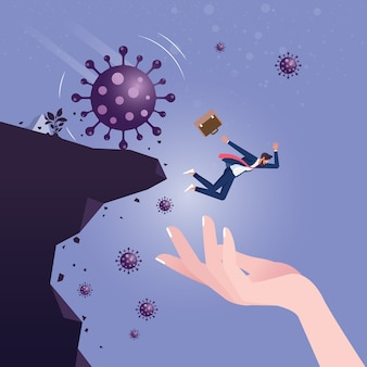 Overheidssteun bij coronavirus-pandemie veroorzaakte faillissement