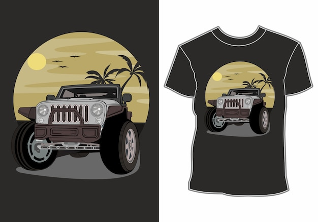 Overhemden met autothema en zomervakanties op het strand