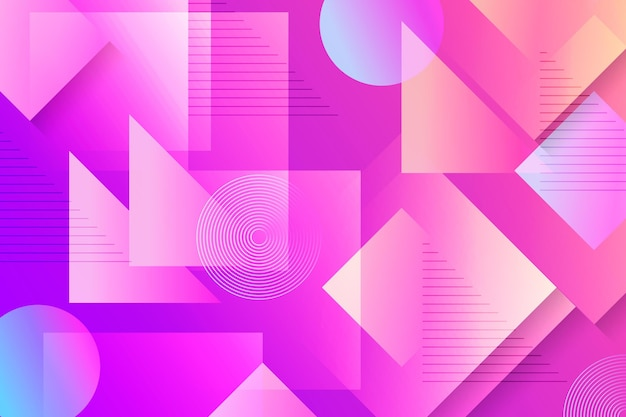 Overlappende vormen achtergrond