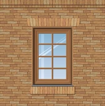 Overspannen oud venster