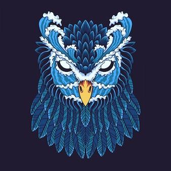 Owl illustratie