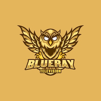 Owl logo mascot