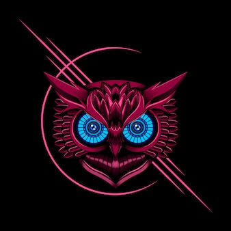 Owl vector illustratie