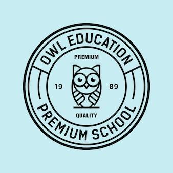 Owl vector logo illustratie