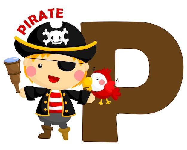 P voor pirate