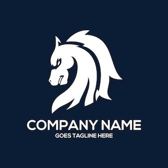 Paard logo ontwerp