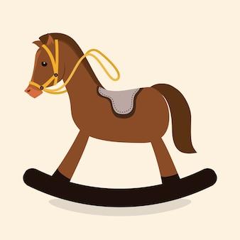 Paard ontwerp.