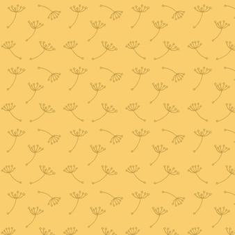 Paardebloem patroon
