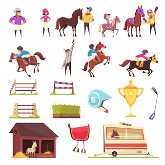 Paardensport set