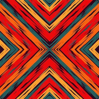Paars strepen rustiek naadloos patroon.