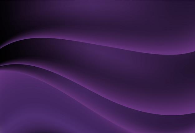 Paarse abstracte golvende achtergrond
