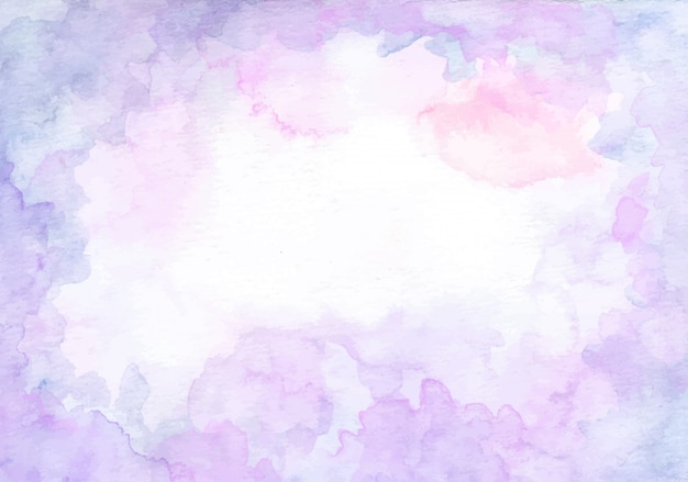 Paarse aquarel abstracte textuur achtergrond