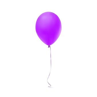 Paarse ballon pictogram.