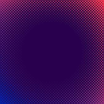 Paarse en roze halftone achtergrond vector