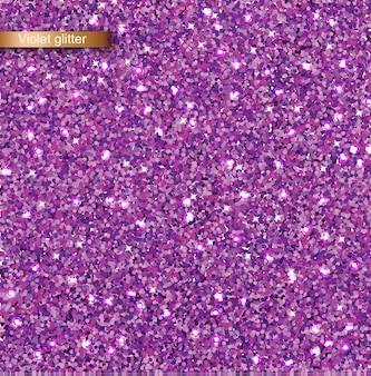 Paarse glitter textuur