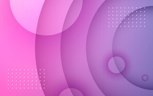 Paarse gradiënt cirkel geometrische achtergrond