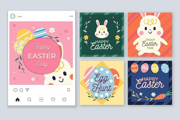 Paasdag instagram postverzameling