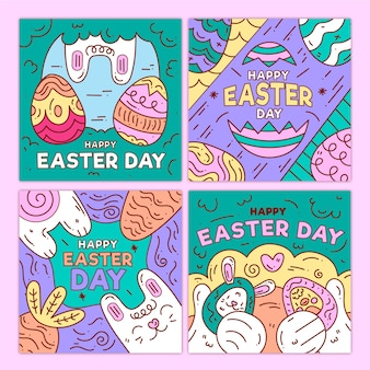 Paasdag instagram thema postverzameling